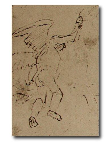 Angel based on lay figure